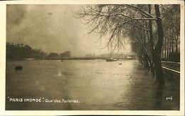 036 145 - France (75) Paris - Paris Inondé - Quai Des Tuilerie - Überschwemmung 1910