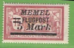 MiNr.105 X  Deutschland Deutsche Abstimmungsgebiete Memelgebiet - Klaipeda