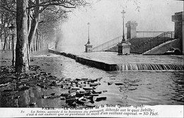 036 146 - France (75) Paris - La Grande Crue De La Seine - Überschwemmung 1910