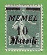 MiNr.108 X  Deutschland Deutsche Abstimmungsgebiete Memelgebiet - Klaipeda