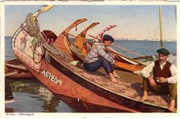 AVEIRO - Barcos Moliceiros - COSTUMES - PORTUGAL - Aveiro