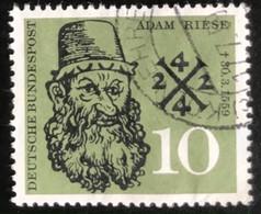 Deutsche Bundespost - C2/41 - (°)used - 1959 - Michel 308 - Adam Riese - Gebraucht