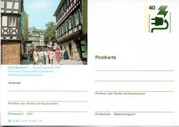 """(BP3) BRD Bildpostk. Wz40(Pf) Olivgrün """"Unfallverhütung"""" P120 515586 D3/36 """"6140 Bensheim"""" Ungebraucht - Bildpostkarten - Ungebraucht"""