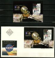 BULGARIA 2021 SPACE Famous Astronauts. NASA. 100th Birth Anniversary Of JOHN GLENN - S/S MNH + FDC - Unused Stamps