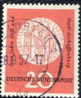 Deutsche Bundespost - C2/42 - (°)used - 1957 - Michel 255 - Aschaffenburg - Gebraucht