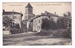 Jolie CPA Lesterps, Charente, Entrée Du Bourg - Altri Comuni