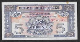 Forze Armate Britanniche - Banconota Non Circolata FDS UNC Da 5 Scellini P-M20c - 1961 - British Armed Forces & Special Vouchers