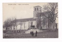 Jolie CPA Juillac-le-Coq, Charente, L'église - Altri Comuni