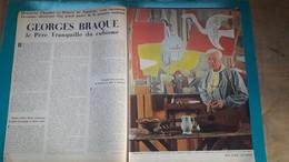 Georges Braque ,extrait De Page De Paris Match,le Paysan De Varengeville - Historical Documents