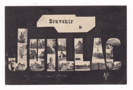 Jolie CPA Fantaisie Multi-vues Juillac-le-Coq, Charente, 1907 - Altri Comuni