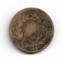 COLONIES FRANCAISES - 10 CENTIMES CHARLES X 1825 - Kolonien
