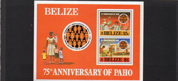 MEN -1977 Belize - Organizzazione Sanitaria Pan Am - Other