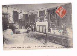 Jolie CPA Langély, Charente, Cabinet De Travail De Paul Déroulède - Altri Comuni
