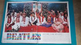 Beatles Histoire D'une Réussite & Les Kennedy ,extrait De Page De Paris Match - Historical Documents