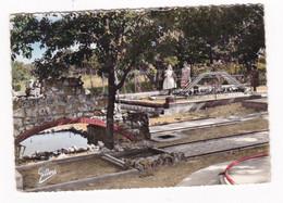 CPM, Coul. 1963, Grottes Du Quéroy, Charente, Golf Miniature - Altri Comuni