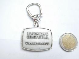 Beau Porte Clés , Marbre Auto Celette Blackhwak SA à Vienne , Isére - Key-rings