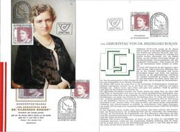 3171i: Hildegard Burjan, Caritas Socialis, 3 Belege Aus Österreich 1983 - Other
