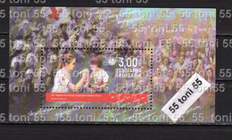 2021 100 Years Of Youth Red Cross  S/S-MNH Bulgaria / Bulgarie - Unused Stamps