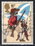GRAN BRETAGNA - 1983 - ROYAL SCOTS - UNIFORME MILITARE - USATO - Used Stamps