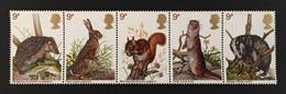 G.B. / 1977 / N°Y-T : 835-836-837-838-839 Se Tenant - Unused Stamps