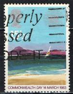 GRAN BRETAGNA - 1983 - ISOLA TROPICALE - COMMONWEALTH DAY - USATO - Used Stamps