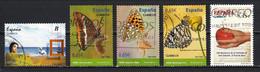 Espagne 2011 : Timbres Yvert & Tellier N° 4277 - 4278 - 4279 - 4280 - 4282 - 4283 - 4284 - 4285 - 4286 Et 4287 Oblitérés - 2011-... Usati