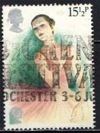 GRAN BRETAGNA - 1982 - STORIA DEL TEATRO INGLESE: IL BALLETTO - EUROPA - USATO - Used Stamps