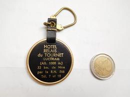 Beau Porte Clés , Hôtel Relais Du Tournet , Lucéram , Alpes Maritimes - Key-rings