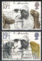 GRAN BRETAGNA - 1982 - CHARLES DARWIN - TARTARUGHE GIGANTI - IGUANE MARINE - USATI - Used Stamps
