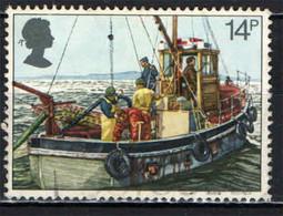 GRAN BRETAGNA - 1981 - PESCATORI - PESCA DEI MOLLUSCHI - ANNO DEI PESCATORI - USATO - Used Stamps