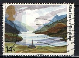 GRAN BRETAGNA - 1981 - LAGO DI GIENFINNAN - NATIONAL TRUST FOR SCOTLAND - USATO - Used Stamps