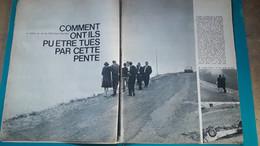 Drame Du Car Du Petit St Bernard,Alain Delon,extrait De Page De Paris Match - Historical Documents