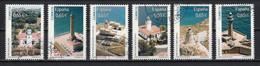 Espagne 2011 : Timbres Yvert & Tellier N° 4302 - 4303 - 4304 - 4305 - 4306 - 4307 + Feuille Des 6 Timbres Oblitérés - 2011-... Usati