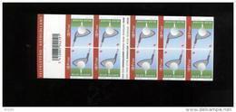 Belgie Boekje Carnet 2007 B73 Golf - Markenheftchen 1953-....
