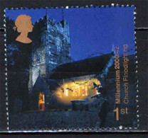 GRAN BRETAGNA - 2000 - MILLENNIUM - CHURCH FLOODLIGHTING - USATO - Used Stamps
