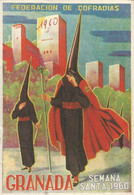 GU / Advertising Tourism Guide  TOURISME  / Livret GRANADA Semana Santa 1960 Fédération De Cofradias - Tourism Brochures