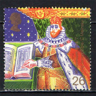 GRAN BRETAGNA - 1999 - MILLENNIUM - CHRISTIANS - KING JAMES BIBLE - C. MELINSKY - USATO - Used Stamps
