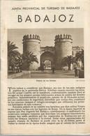 GU / Advertising Tourism Guide  TOURISME  / Livret Touristique BADAJOZ  Espagne Bada-joz Ascala - Tourism Brochures