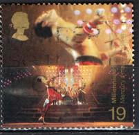 GRAN BRETAGNA - 1999 - MILLENNIUM - ENTERTAINMENT; SPORTS - FREDDIE MERCURY - LEAD SINGER OF QUEEN - USATO - Used Stamps