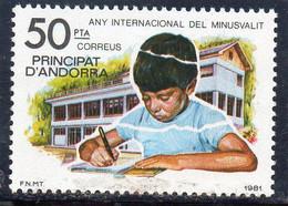 MEN - 1981 Andorra Spagnola - Anno Int. Del Bambino - Ungebraucht