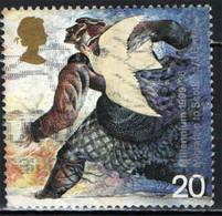 GRAN BRETAGNA - 1999 - MILLENNIUM - EMIGRATION - MIGRATION TO SCOTLAND - COLOMBA - USATO - Used Stamps