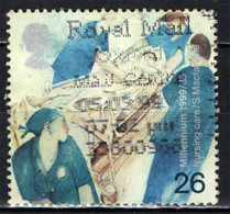 GRAN BRETAGNA - 1999 - MILLENNIUM - HEALTH CARE - DEVELOPMENT OF NURSING CARE - USATO - Used Stamps