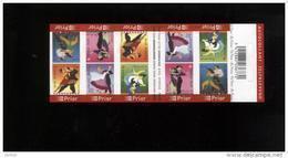 Belgie Boekje Carnet 2006 B68 Dances Dansen Danses - Markenheftchen 1953-....