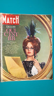 Brigitte Bardot  ,extrait De Page De Paris Match - Historical Documents