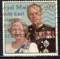 GRAN BRETAGNA - 1997 - ROYAL WEDDING - 50° ANNIVERSARIO - LA COPPIA NEL 1997  - USATO - Used Stamps
