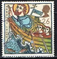 GRAN BRETAGNA - 1997 - S. COLUMBA - MISSIONARIO - USATO - Used Stamps