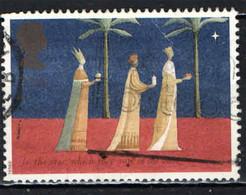 GRAN BRETAGNA - 1996 - NATALE - CHRISTMAS - I RE MAGI E LA STELLA - TREE KINGS AND STAR - USATO - Used Stamps