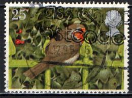GRAN BRETAGNA - 1995 - NATALE - IL PETTIROSSO - UCCELLO - SUL CANCELLO - USATO - Used Stamps