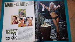 Brigitte Bardot,j'ai 30 Ans  ,extrait De Page De Marie Claire - Historical Documents