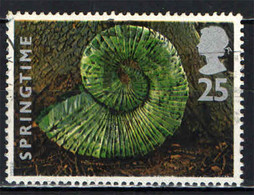 GRAN BRETAGNA - 1995 - LA PRIMAVERA - SPRINGTIME - FOGLIE DI CASTAGNO - CHESTNUT  LEAVES - USATO - Used Stamps